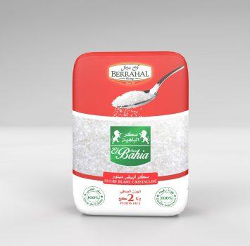Sucre blanc cristallise en sachet 2kg