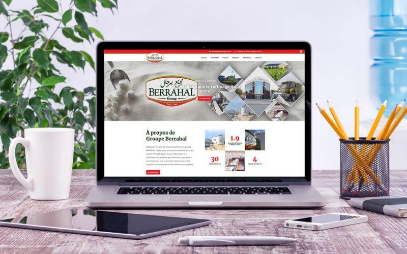 Le nouveau site web de BERRAHAL Group